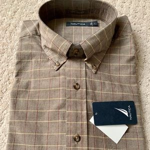 NWT Men's Nautica button down shirt